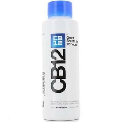 2 x CB12 Mouthwash / Rinse Original - NEW 500ml Bottle