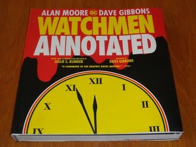 Watchmen Annotated by Alan Moore and Dave Gibbons DC (Hardback)< 9781401265564