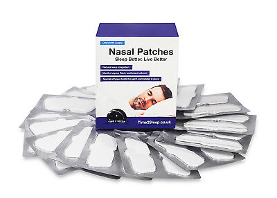 Extra strength drug free menthol nasal patch