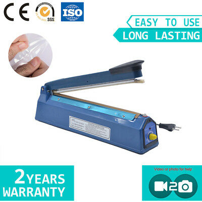PFS300 Impulse Heat Sealing Plastic Poly Bag Manual Hand Sealer 3-5day Delivery