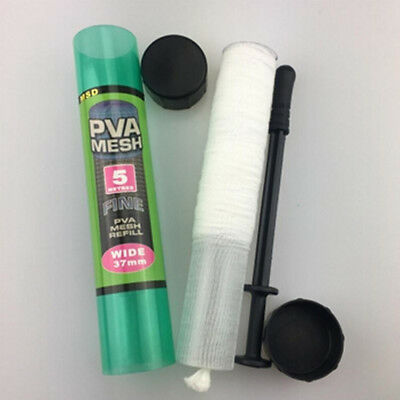 18/25/37mm PVA Mesh Narrow Refill Spools Bags Bait Carp Fishing Tackle Tool New