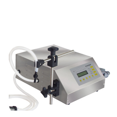 Liquid Filling Machine Digital Display Self Pump Suck Semi-auto Water Filler