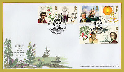 2018 CAPTAIN COOK Stamp Set or Mini Sheet FIRST DAY COVERS (choice)