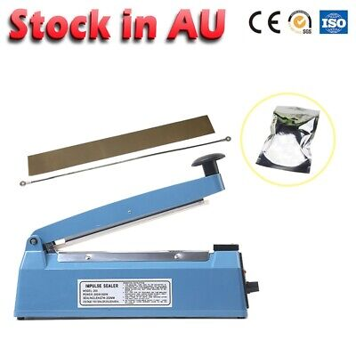Portable Impulse Heat Sealing 200mm Electric Plastic Hand Poly Bag Hand Sealer