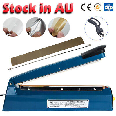 Household 300mm Impulse Heat Sealer Electric Plastic Poly Bag Sealing Machine