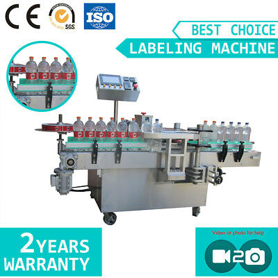 Automatic Hot Melt Glue Plastic Glass Water Bottle Labeling Machine