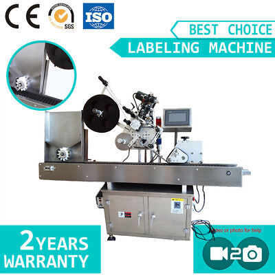 Automatic Round Bottle Labeling Machine Rolling Labeling for Round Product