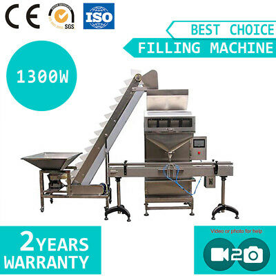 Automatic Granular Powder Quantitative Filling Packaging Machine 0.02-11Ib