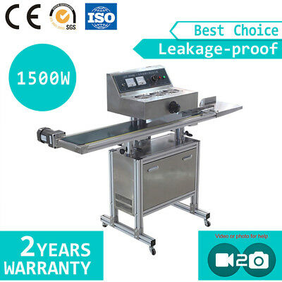 Auto Conveying Continuous Induction Sealer Sealing Machine