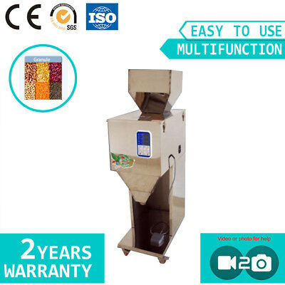 Vibratory Filler Rice Tea Grain Seed Powder Filling Machine