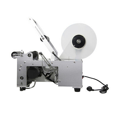 New MT-50 Semi-Automatic Round Bottle Labeling Labeler Sticker Machine 10-150mm
