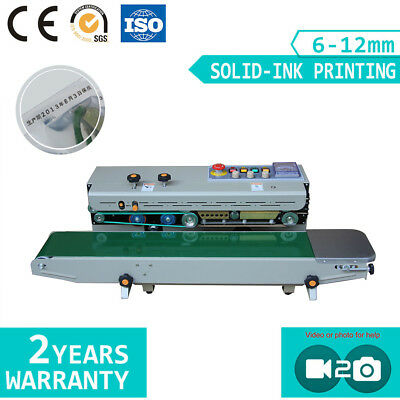 Automatic Continuous Plastic Bag Sealing Machine Band Sealer FR1000C 3-5day