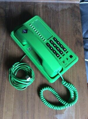 Rare  Green Answercall Trojan 4000 Telephone(Ex National Grid)