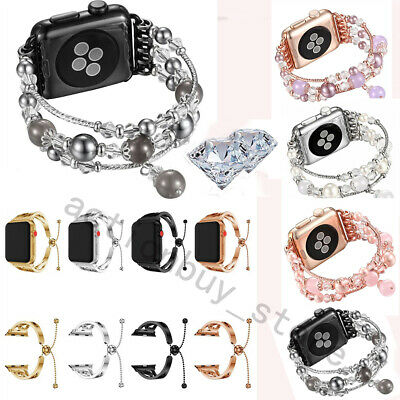 Fo Apple Watch Series 4 3 2 1 Stainless Bracelet iWatch Band Strap 38/40/42/44MM
