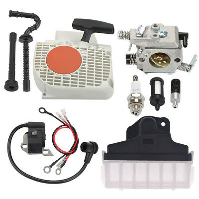 Carburetor Recoil Starter Set For STIHL MS230 MS250 021 023 025 MS210 Chainsaw