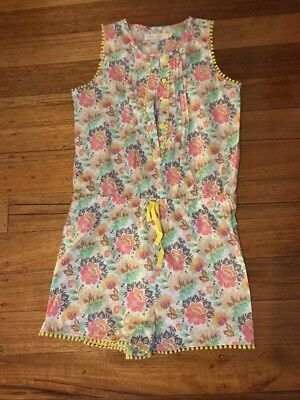 Girls Collette Dinnigan Size 12 Sumer Jumpsuit. Excellent Condition Gorgeous On.