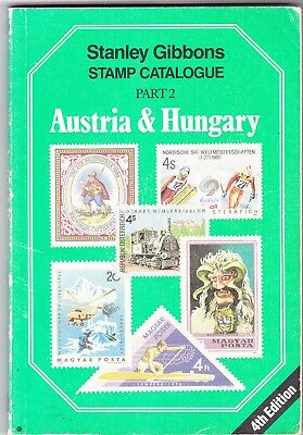 stanley gibbons stamp catalogue-    AUSTRIA & HUNGARY  PART2  - 4TH EDIT.