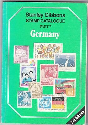Stamp Catalogue: Pt. 7: Germany by Stanley Gibbons (3RD edition, 1987)