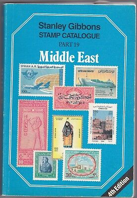 Stanley Gibbons Stamp Catalogue - MIDDLE EAST - PART19 - 4TH EDIT.