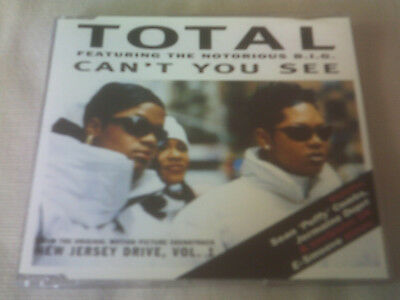 Total / Notorious B.i.g - Can't You See - R&b Cd Single