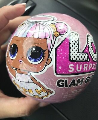 LOL Surprise GLAM GLITTER Doll - 7 Surprises - Series 4 - 100% New+Authentic MGA