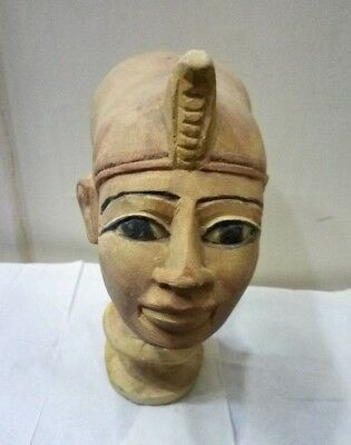 Ancient Egyptian Antique Head Queen Akhenaten Nefertiti Daughter 1334-1300 BC