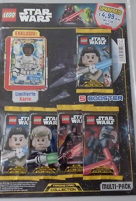 LEGO Star Wars - Serie 1 Trading Cards - 1 Multipack ++ LE 9