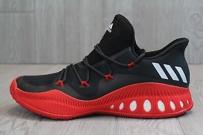 e85414a24801 32 ADIDAS CRAZY Explosive 2017 Low Basketball Shoes Red Black Size ...