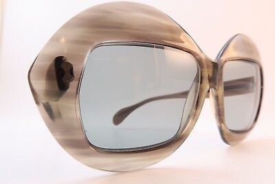 Vintage 70s Serge Kirchhofer sunglasses acetate Mod 487 made in Austria EXC