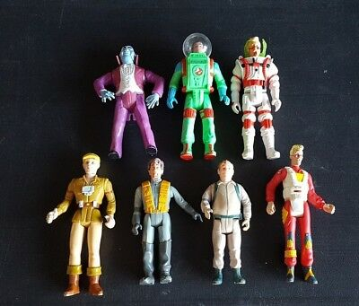 Vintage GHOSTBUSTERS Kenner lot of 7 action figures