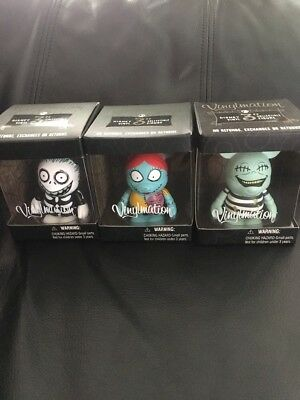 FREE SHIPPING! Disney Vinylmation The Nightmare Before Christmas  Lot Of 3 NIB