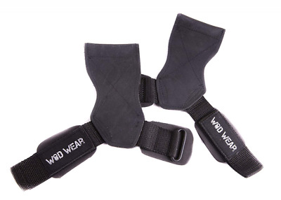 Lifting Strap Grip Rubber Hand Protectors, Protect Wrists and Increase PRs NEW