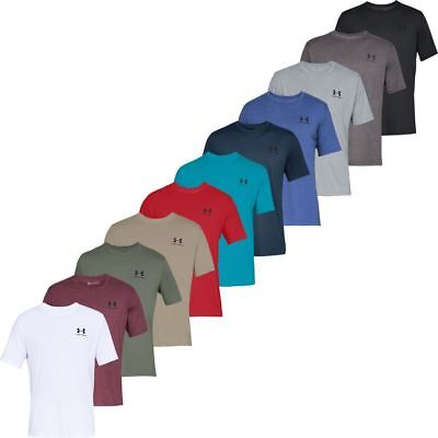 Under Armour 2019 Mens Charged Cotton Sportstyle Left Chest Short Sleeve T-Shirt