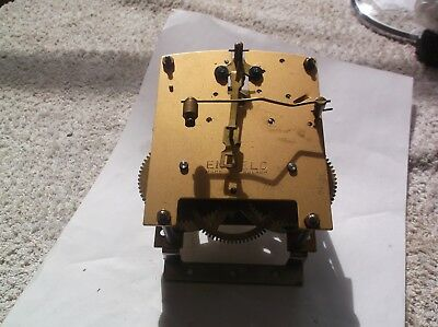 ENFIELD MECHANISM  FROM AN OLD  MANTLE CLOCK working order
