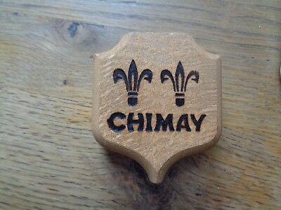 Trappist Chimay Advertising Bottle Opener wood new