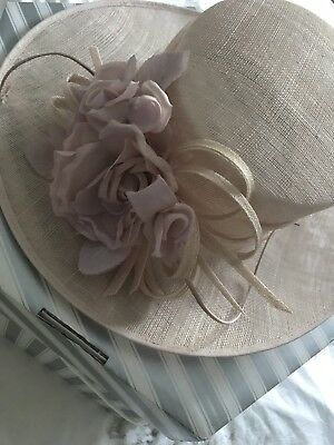 John Charles Mother Of The Bride Hat pale pink
