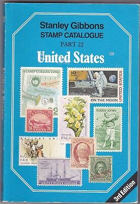 Stanley Gibbons Stamp Catalogue - UNITED STATES  PART 22 - 3RD EDIT.