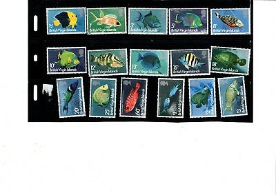 A  Unmounted Mint Set From British Virgin Islands Fish