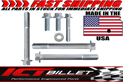 USA Made BOLT KIT ONLY Camaro 12556916 Alternator Bracket Hardware LS LS1 GM ICT