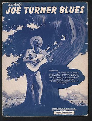 Joe Turner Blues (W C Handy) 1942 Edition (Original 1915) Sheet Music