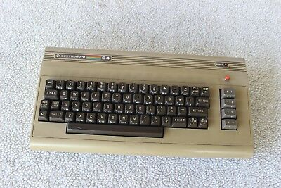 Vintage Commodore 64 Computer Keyboard  Untested