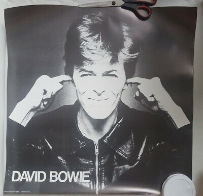 "David Bowie Isolar Heroes Tour 1978 Original Promo Poster 22"" X 22"" Blackstar"