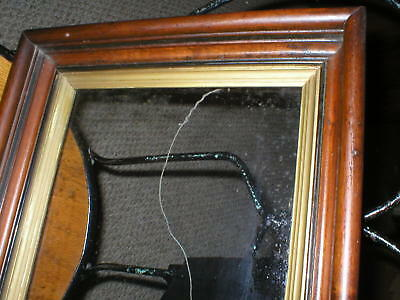 antique deep picture frame
