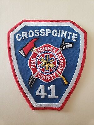 Fairfax County Fire Department Patch Station 41