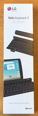 NEW LG KBB-710 Rolly Keyboard 2 Roll Up Portable Bluetooth Keyboard MSRP $99