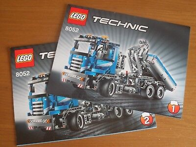 Lego Technic 8052 Container Truck Instructions Only No Bricks