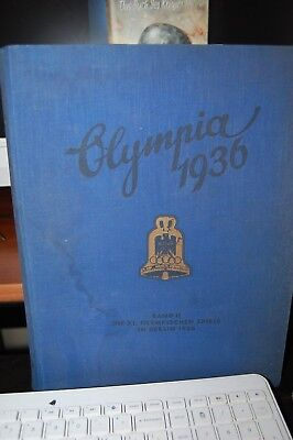 "WW2 German ""Olympia 1936"" Summer Olympics Photo Album (Jesse Owens)"