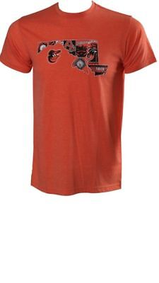 NEW 2018 Baltimore Orioles O's Maryland State T Shirt XL SGA 8/15/18