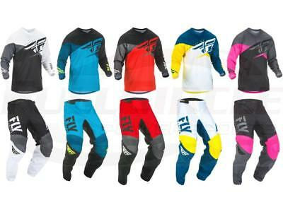 2019 Fly Racing F-16 Jersey & Pant Combo Set MX/ATV/BMX/MTB Offroad Riding Gear