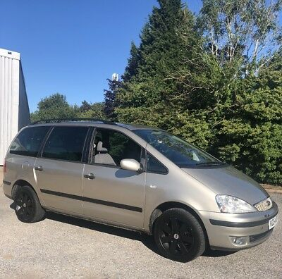 2004 Ford Galaxy Mk2 7 Seater Auto Only 83,700 Miles 1 Years Mot 2 Owners L@@k!!